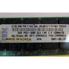 IBM 39M5811 39M5812 2Gb (2048Mb) DDR2 ECC Reg memory (Ангарск)