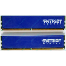 Память 1Gb (2x512Mb) DDR2 Patriot PSD251253381H pc4200 533MHz (Ангарск)