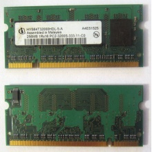Модуль памяти для ноутбуков 256MB DDR2 SODIMM PC3200 (Ангарск)